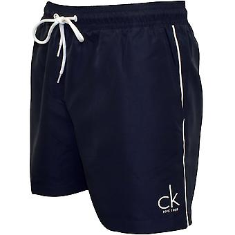 Calvin Klein CK NYC Classic svømme Shorts, Navy