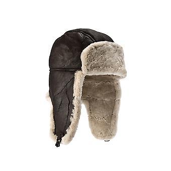 Eastern Counties Leather Mens Heydon Sheepskin Flying Hat