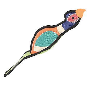 Happy Pet Gaudy Pheasant Tug Toy