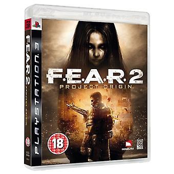 F. E. A. R 2 PROJECT ORIGIN PS3-nieuw