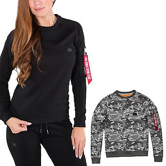 Alpha Industries Damen Sweatshirt X-Fit