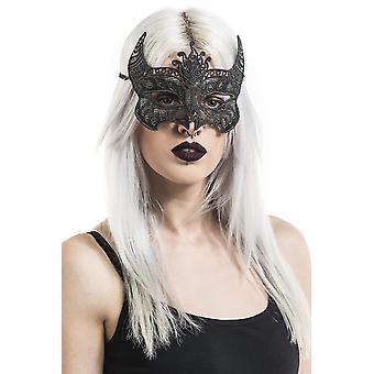 Diablo Diablo ojo máscara máscara de encaje de Satanás Halloween