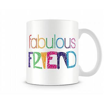 Fabulous Freund Printed Tasse