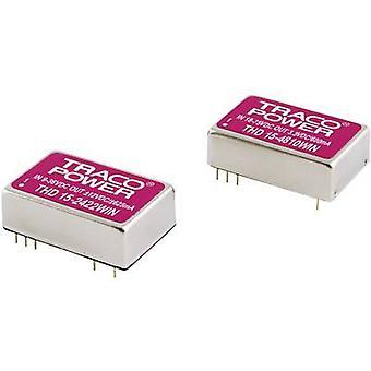 TracoPower THD 15-4813WIN DC/DC convertitore (stampa) 48 V DC 15 V DC 1 A 15 W No. uscite: 1 x