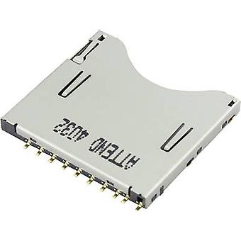 Attend SD Card connector Push, Push 104D-TCA0-R06 1 pc(s)
