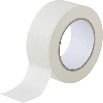 TOOLCRAFT 93038c 190 maskeringstape White (L x B) 50 m x 50 mm 1 ruller