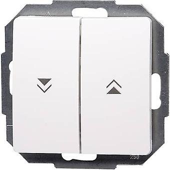 Interruptor del obturador de insertar Kopp París blanco 651502087