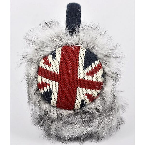 Union Jack Wear Union Jack Furry Ear Muffs