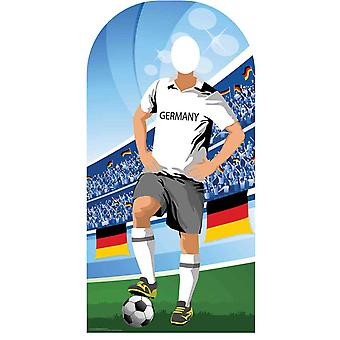 Wk 2018 Duitsland Voetbalkarton Cutout / Standee Stand-in