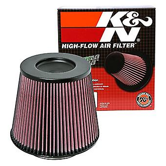 K&N RC-5177 Universal Clamp-On Air Filter: Round Tapered; 6 in (152 mm) Flange ID; 7.5 in (191 mm) Height; 9 in (229 mm)