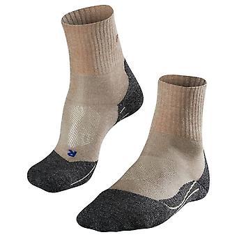 Falke Trekking 2 mittlere kurze coole Socken - Natur meliert