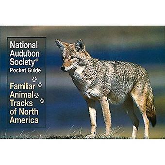 Seguimiento Familiar animales (las guías de bolsillo de la sociedad de Audubon)