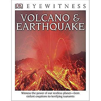 DK Eyewitness böcker: Vulkan & jordbävningen