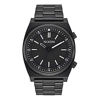 Nixon Mens kvarts analog klocka med rostfria band A1176-001-00