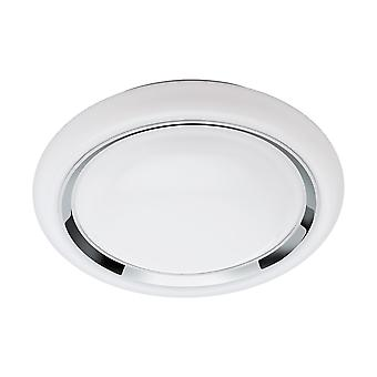 Eglo - Capasso verbinden kontrollierten Tuneable White & RGB dekorative Decke Beleuchtung Chrom EG96686