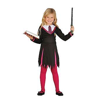 Meisjes Student van magische Hermelien Fancy Dress kostuum