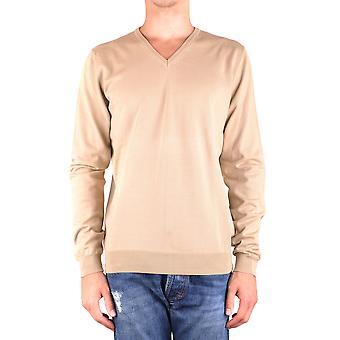 Dondup Ezbc051088 Men's Beige Wool Sweater