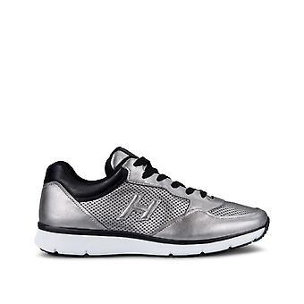 Hogan Hxm2540t780g8f2700 Her's Zilver lederen sneakers