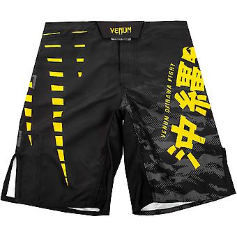 Venum Kids Okinawa 2.0 MMA Fight Shorts  - Black/Yellow