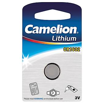 Camelion Battery CR1632 Lithium 3V