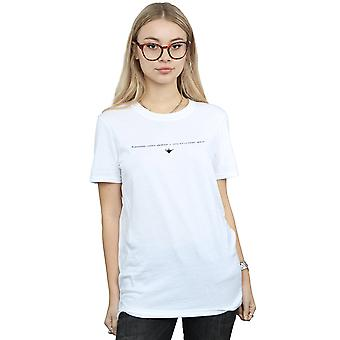 Disney Women's Aladdin kosmische garderobe vriendje fit T-shirt