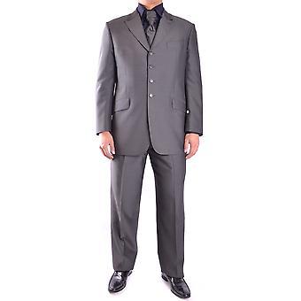 Carlo Pignatelli Ezbc202001 Men's Grey Wool Suit