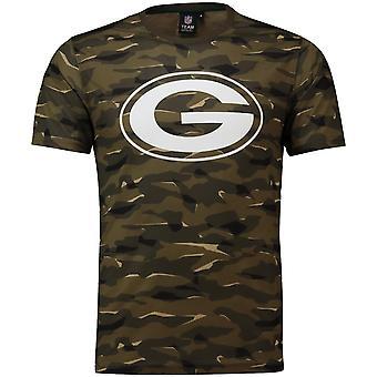 NFL Fan T-Shirt-Green Bay Packers wood camo