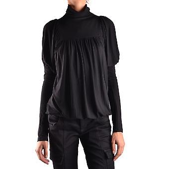 Isola Marras Ezbc255009 Women's Black Viscose Sweater