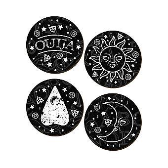 Grindstore Ouija 4 Piece Coaster sæt