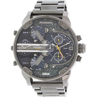 Diesel Men es Mr. Daddy Dz7331 Gunmetal Stainless-steel Quarz Watch