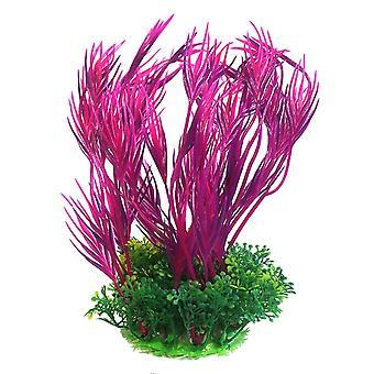 Betta Choice Purple & Pink Plastic Plant 20cm