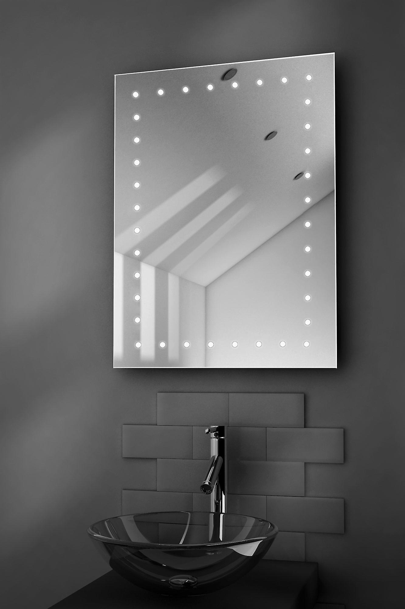 Inca Ultra-Slim LED Bathroom Mirror With Demister Pad & Sensor k166