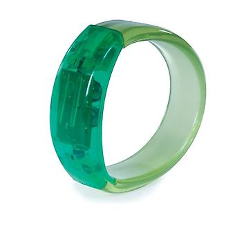 Funtime Light Up Gel Stone Bracelet Green
