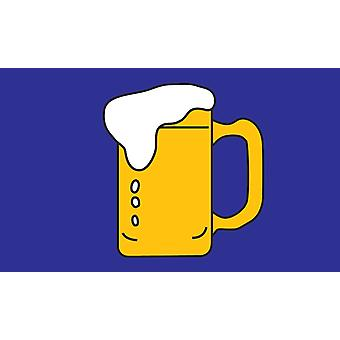 5ft x 3ft Flag - Beer Party