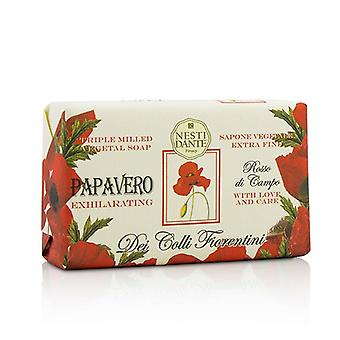 Nesti Dante Dei Colli Fiorentini tripla fresatura sapone vegetale - papavero 250g/8.8 oz
