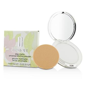 Clinique Stay Matte universal blotting pulbere 8.4 g/0.29 oz
