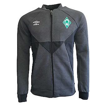 2019-2020 Werder Bremen Umbro Presentation Jacket (Black)