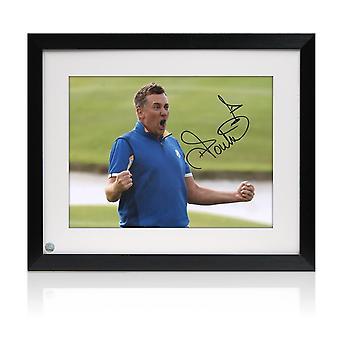 Ian Poulter podpisał kontrakt z Golfem Zdjęcie: Ryder Cup 2018. Oprawione