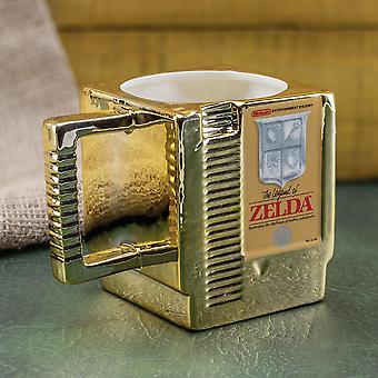 The Legend of Zelda Tasse Game Cartridge weiß, bedruckt, aus Keramik, , in Geschenkkarton.