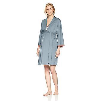 Belabumbum Women's Luxe Cotton Maternity/Nursing Nightie -, Plume, Size Small