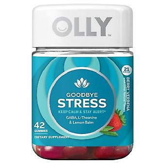 Olly Goodbye stress voedings supplement Gummies-Berry Verbena