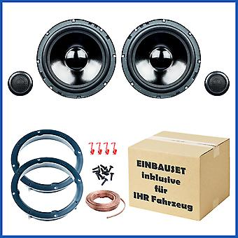 VW Golf 4 and Golf 6 speaker Kit, door front, PG audio Evo II 2.16