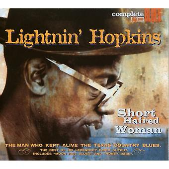 Lightnin' Hopkins - Short Haired Woman [CD] USA import