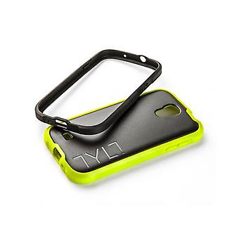 TYLT Bumper Case for Samsung Galaxy S4 - Black/Lime