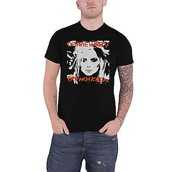 Debbie Harry T Shirt French Kissin Blondie Band Logo new Official Mens Black