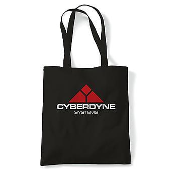 Cyberdyne-järjestelmät Terminator elokuva innoittamana, Tote uudelleenkäytettäviä ostoksia kankaalle laukku