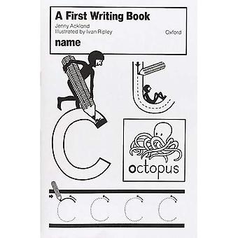 En første skrive bok