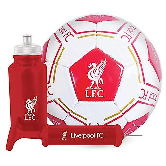 Ensemble cadeau de football Signature Liverpool FC