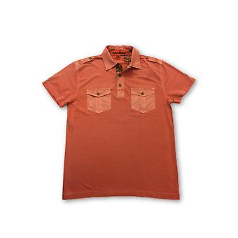 Tailor Vintage polo in coral pink