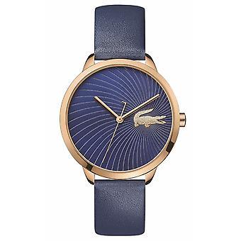 Lacoste 2001058 Women's Lexi Blue Leather Wristwatch